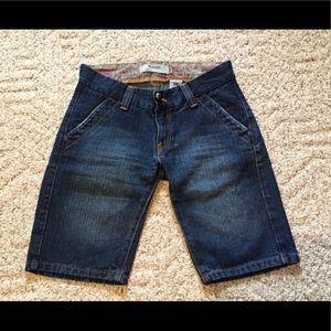 Levi's 504 Slouch Denim Shorts EUC